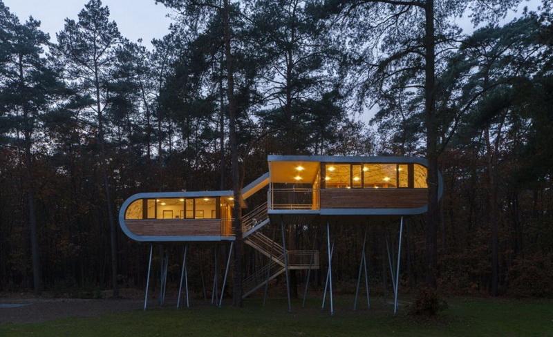 树屋建筑设计图