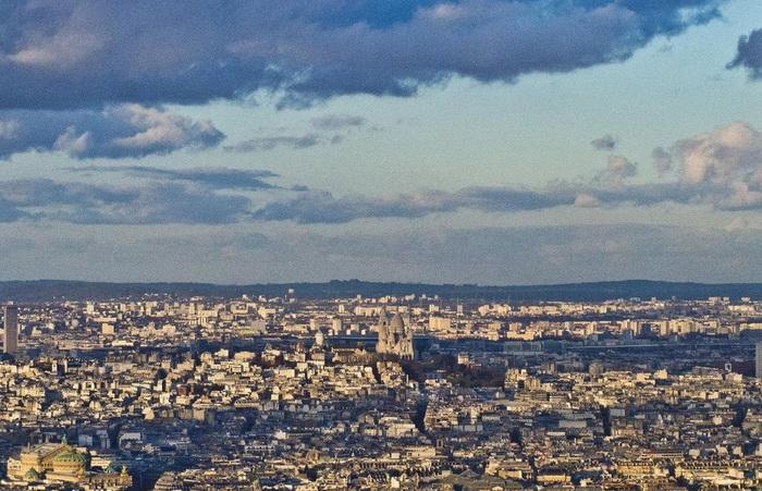 极致浪漫!梦幻巴黎的城市建筑全景图