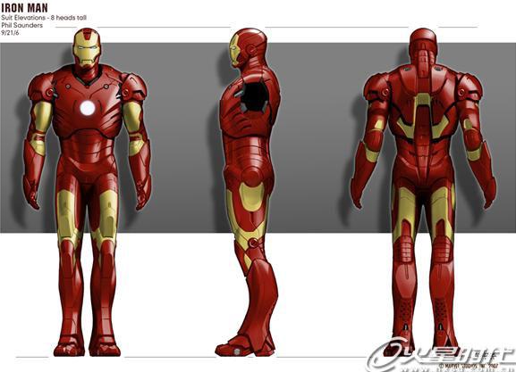 打造漫画英雄钢铁侠
