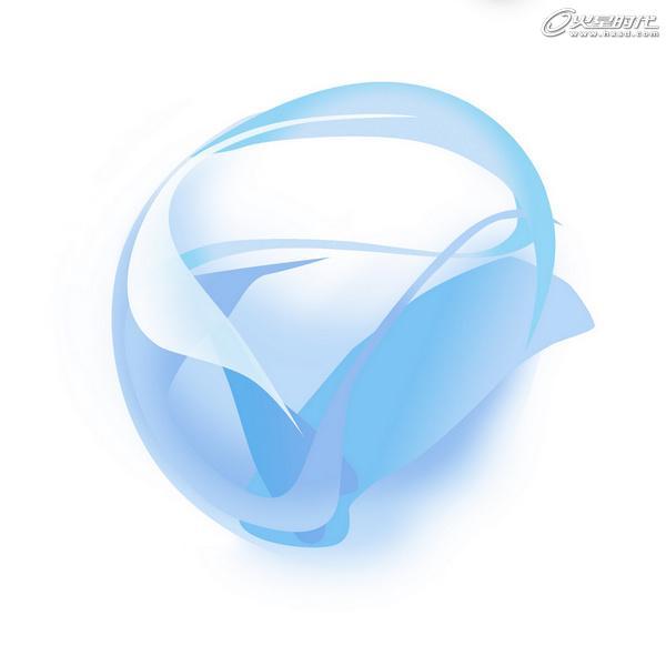 平面设计:微软银光logo临摹制作
