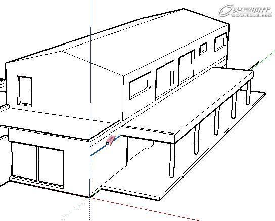 工程图 简笔画 平面图 手绘 线稿 544_437