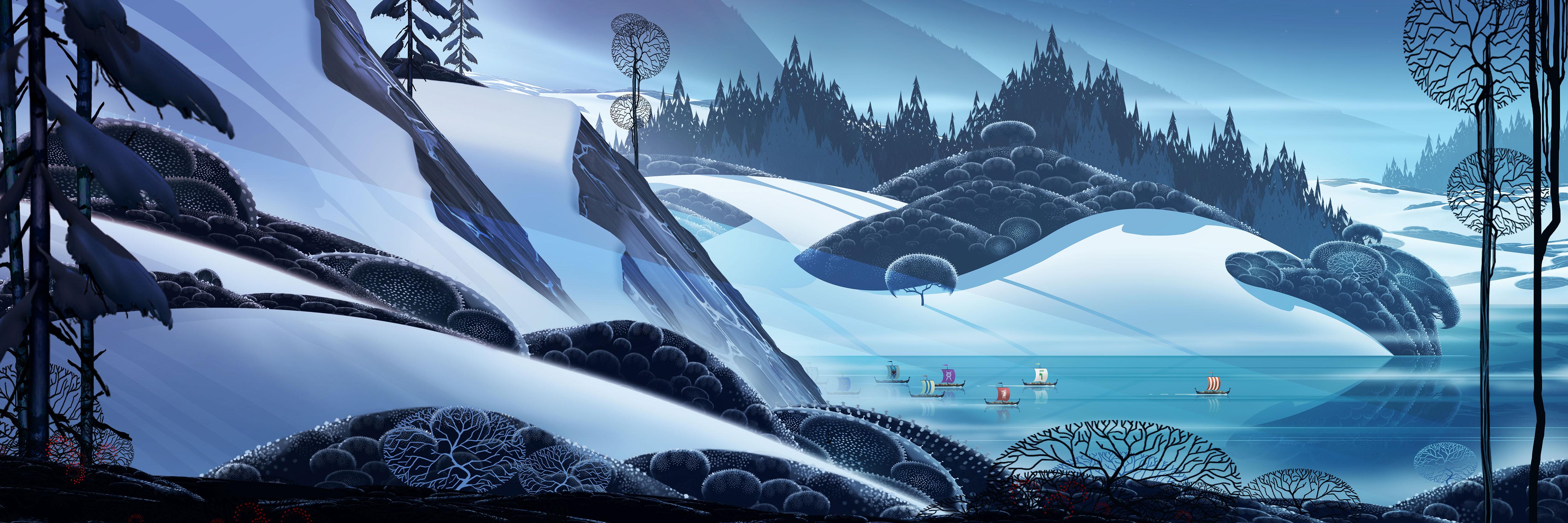 《旗帜传说》游戏原画欣赏