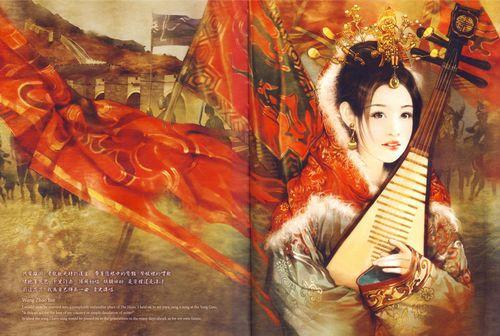 中国风古典美女 插画界才女德珍唯美作品赏