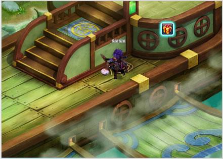 透视,而是散点透视的轴测图,采用俯视的玩家视角出图,在出单体建筑的