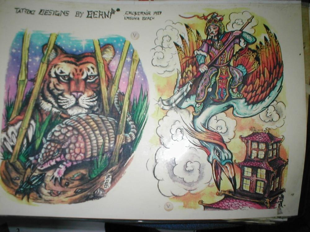 蛟龙出海纹身图片_小动物纹身图案_比利网