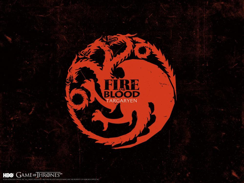 冰与火之歌-权力的游戏 坦格利安族徽壁纸
