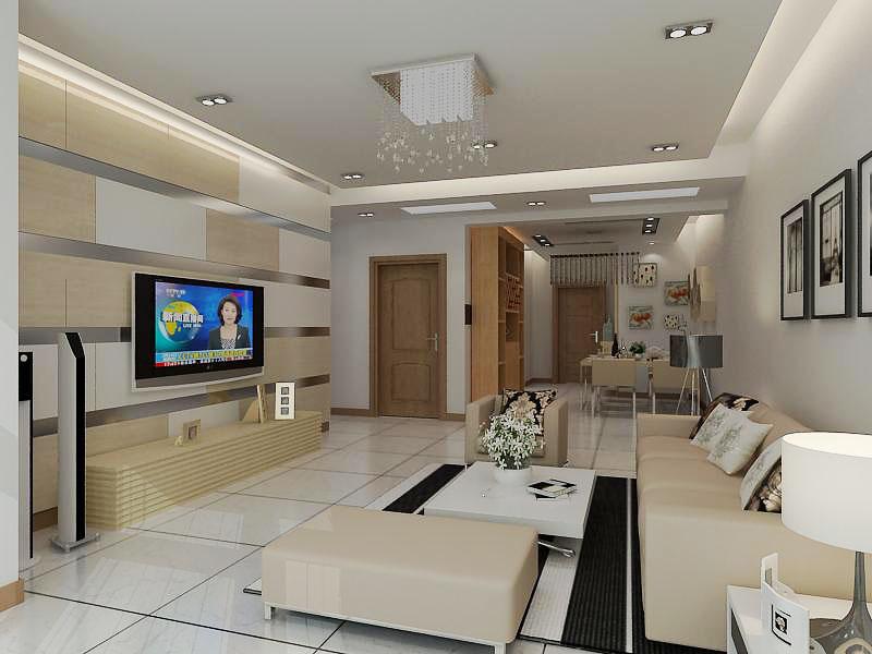 3米寬6米長客廳裝修圖