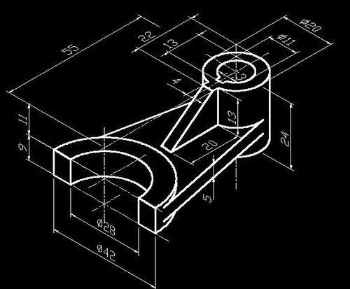 建筑设计教程:根据二维图画三维实体图