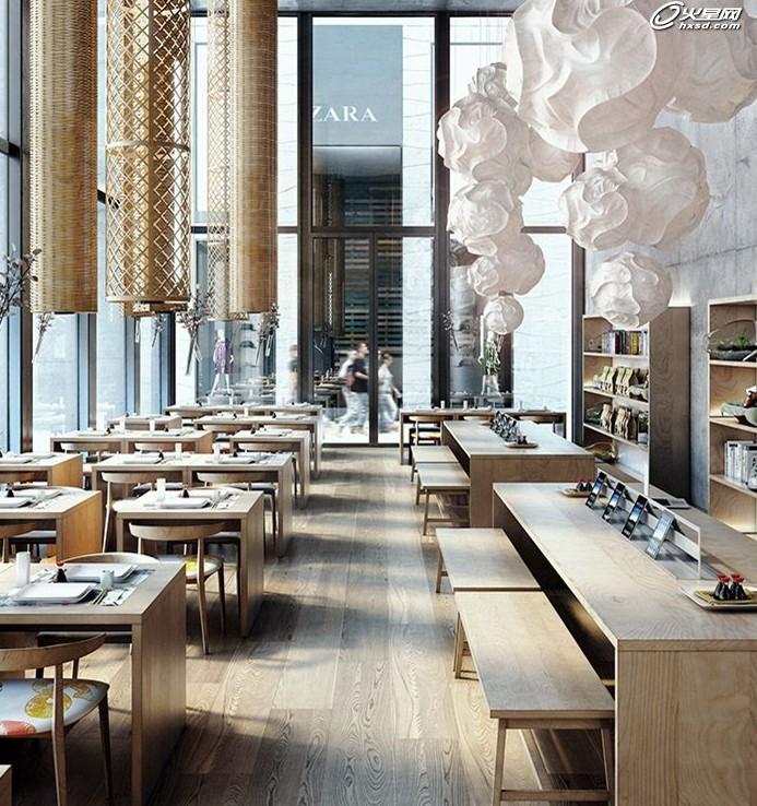 建筑设计教程:3ds max打造创意咖啡厅室内效果图