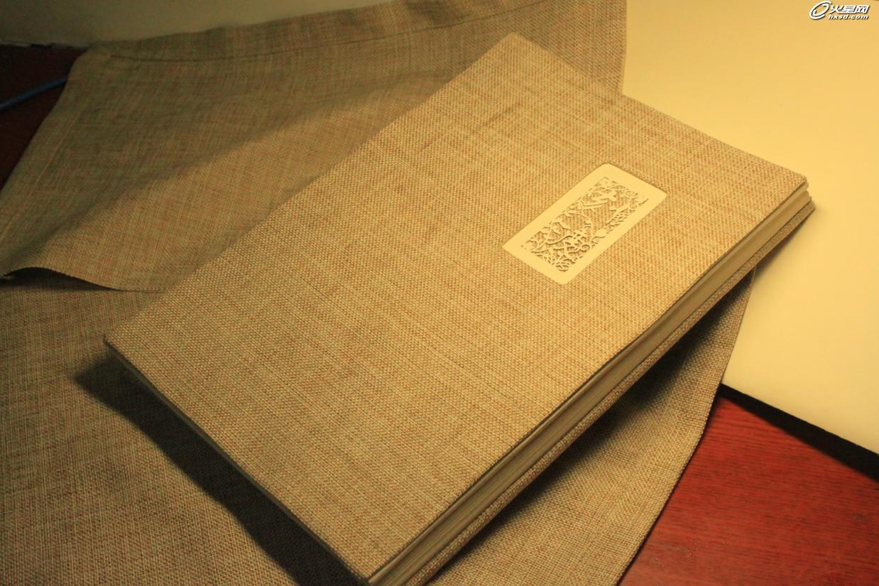 新锐作品:书籍装帧《刻渡》设计与制作步骤解析