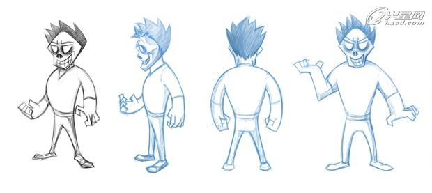 动画场景设计步骤