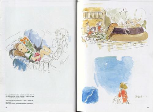 回忆《千与千寻》 宫崎骏经典原画设计