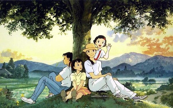 超可爱宫崎骏动画人物手绘图赏